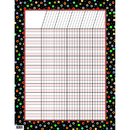 Creative Teaching Press CTP1321 Dots On Black Incentive Chart