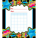 Creative Teaching Press CTP1414 Poppin Patterns Stars Student Incentive Chart