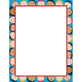 Creative Teaching Press CTP1436 Smiling Stick Kids Computer Paper, Price/EA