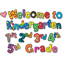 Creative Teaching Press CTP2128 Welcome To Kindergarten 1St 2Nd 3Rd 4Th 5Th Grs Mini-Bb