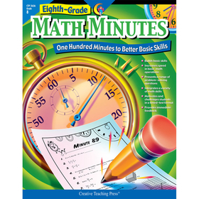 Creative Teaching Press CTP2636 Math Minutes - 8Th Gr, Price/EA