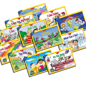 Creative Teaching Press CTP3184 Sight Word Readers K-1 12 Books Variety Pk 1Each 3160-3171, Price/ST