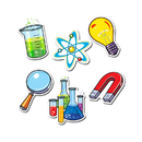 Creative Teaching Press CTP3875 Science Lab Designer Cut Outs