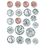 Creative Teaching Press CTP4128 Coins Stickers