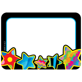 Creative Teaching Press CTP4508 Poppin Patterns Stars Name Tags, Price/EA