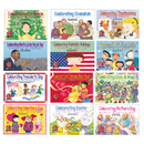 Creative Teaching Press CTP4534 Holiday Series Variety Pk 12-Set Of Books 1 Ea 4522-4533