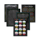 Creative Teaching Press CTP4707 Chalk It Up Classroom Essentials - Chart Pack