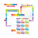 Creative Teaching Press CTP4710 Painted Palette Classroom - Essentials Chart Pack