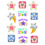 Creative Teaching Press CTP4838 Star Reward Stickers Upcycle Style