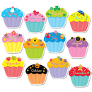 Creative Teaching Press CTP5938 Cupcakes Jumbo Cut Outs