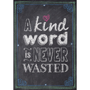 Creative Teaching Press CTP6696 A Kind Word Is Never Wasted Poster