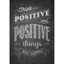 Creative Teaching Press CTP6700 Think Positive And Positive Poster