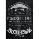 Creative Teaching Press CTP6746 Its Not The Finish Line Poster