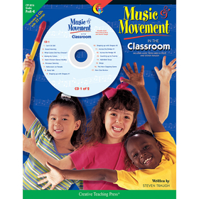 Creative Teaching Press CTP8016 Music & Movement In The Classroom Gr Pk-K, Price/EA