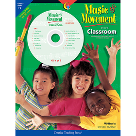 Creative Teaching Press CTP8017 Music & Movement In The Classroom Gr 1-2, Price/EA