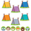 Creative Teaching Press CTP8898 Woodland Friends 6In & 3In Cut-Outs