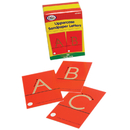 Didax DD-210830 Tactile Sandpaper Uppercase Letters