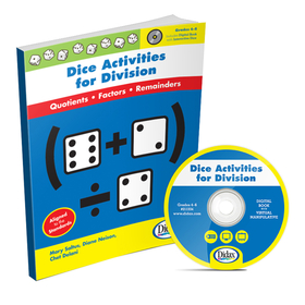 Didax DD-211334 Dice Activities For Division Gr 4-6, Price/EA