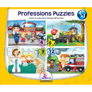 Dexter Educational Toys DEX1918 Professions 4 In 1 Puzzles