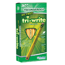Dixon Ticonderoga DIX13082 My First Tri Write 36Ct Pencils With Eraser