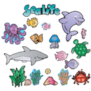 Carson Dellosa DJ-610032 Sea Life Bb Sets-Early Learning Learning All