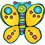 Carson Dellosa DJ-688021 Butterfly Two Sided Decorations