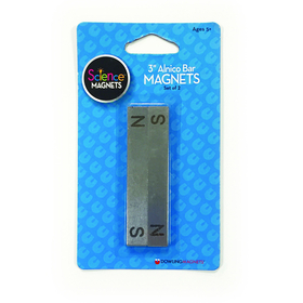 Dowling Magnets DO-731011 3 Bar Magnets Set Of 2, Price/EA