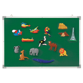 Educational Insights EI-1033 3-In-1 Flannel/Magnetic/Wipe-Off Board, Price/EA