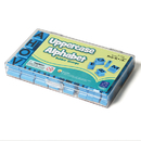 Educational Insights EI-1470 Stamps Uppercase Alphabet In Clear - Plastic Case