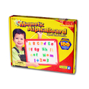 Educational Insights EI-1782 Magnetic Alphaboard 99 Pcs 11 X 14 - Board