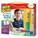 Educational Insights EI-2375 Hot Dots Jr Lets Master Math Gr 2