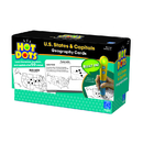Educational Insights EI-2764 Hot Dots States & Capitals Gr 3 & Up