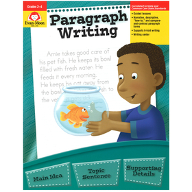 Evan-Moor EMC246 Paragraph Writing Gr 2-4, Price/EA
