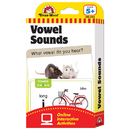 Evan-Moor EMC4163 Flashcard Set Vowel Sounds