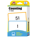 Evan-Moor EMC4167 Flashcard Set Counting 1-100