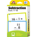 Evan-Moor EMC4170 Flashcard Set Subtraction Facts 11 - To 18