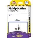 Evan-Moor EMC4171 Flashcard Set Multiplication Facts - To 9S