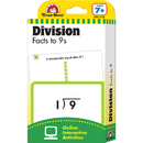 Evan-Moor EMC4172 Flashcard Set Division Facts To 9S