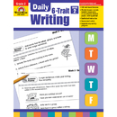 Evan-Moor EMC6022 Daily 6 Trait Writing Gr 2