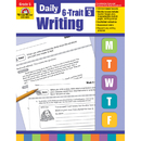 Evan-Moor EMC6025 Daily 6 Trait Writing Gr 5