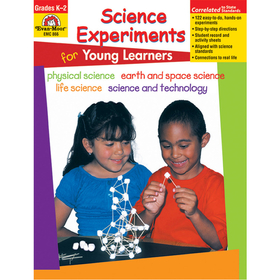 Evan-Moor EMC866 Science Experiments For Young Learners, Price/EA