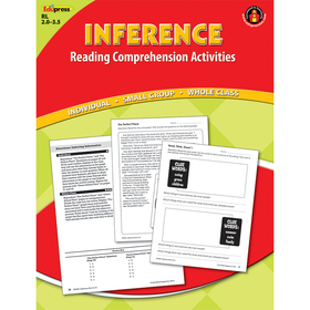 Edupress EP-2360 Inference Comprehension Book Red Level, Price/EA