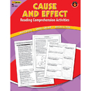 Edupress EP-2362 Cause Effect Comprehension Book Red Level
