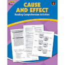 Edupress EP-2363 Cause Effect Comprehension Book Blue Level