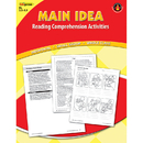 Edupress EP-2364 Main Idea Comprehension Book Red Level