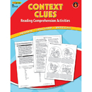 Edupress EP-2366 Context Clues Comprehension Book Red Level