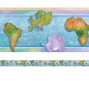 Edupress EP-3304 Border World Continents 12/Pk
