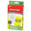 Edupress EP-3401 Main Idea Practice Cards Reading Levels 5.0-6.5