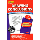 Edupress EP-3415 Drawing Conclusions Reading - Comprehension Practice Cards Red