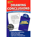 Edupress EP-3416 Drawing Conclusions Reading - Comprehension Practice Cards Blue